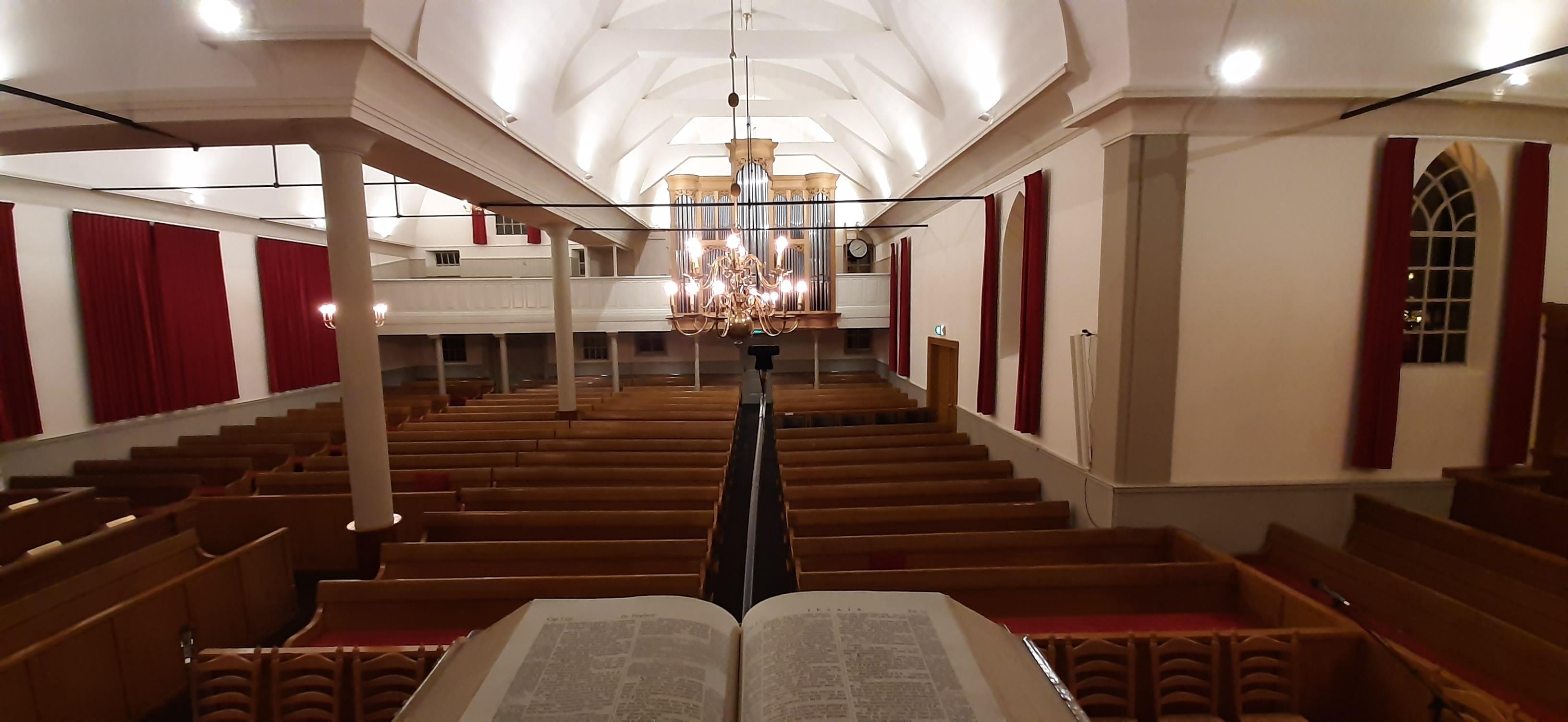 Over onze kerkdiensten